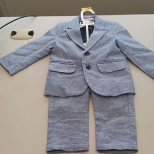 12 mo Cat/Jack Boys suit matching blazer pants